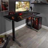 X Rocker Panther Gaming Bureau - Esports - Carbon look