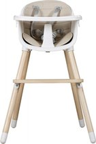 Qute Kinderstoel Q-Smack wit (2in1)