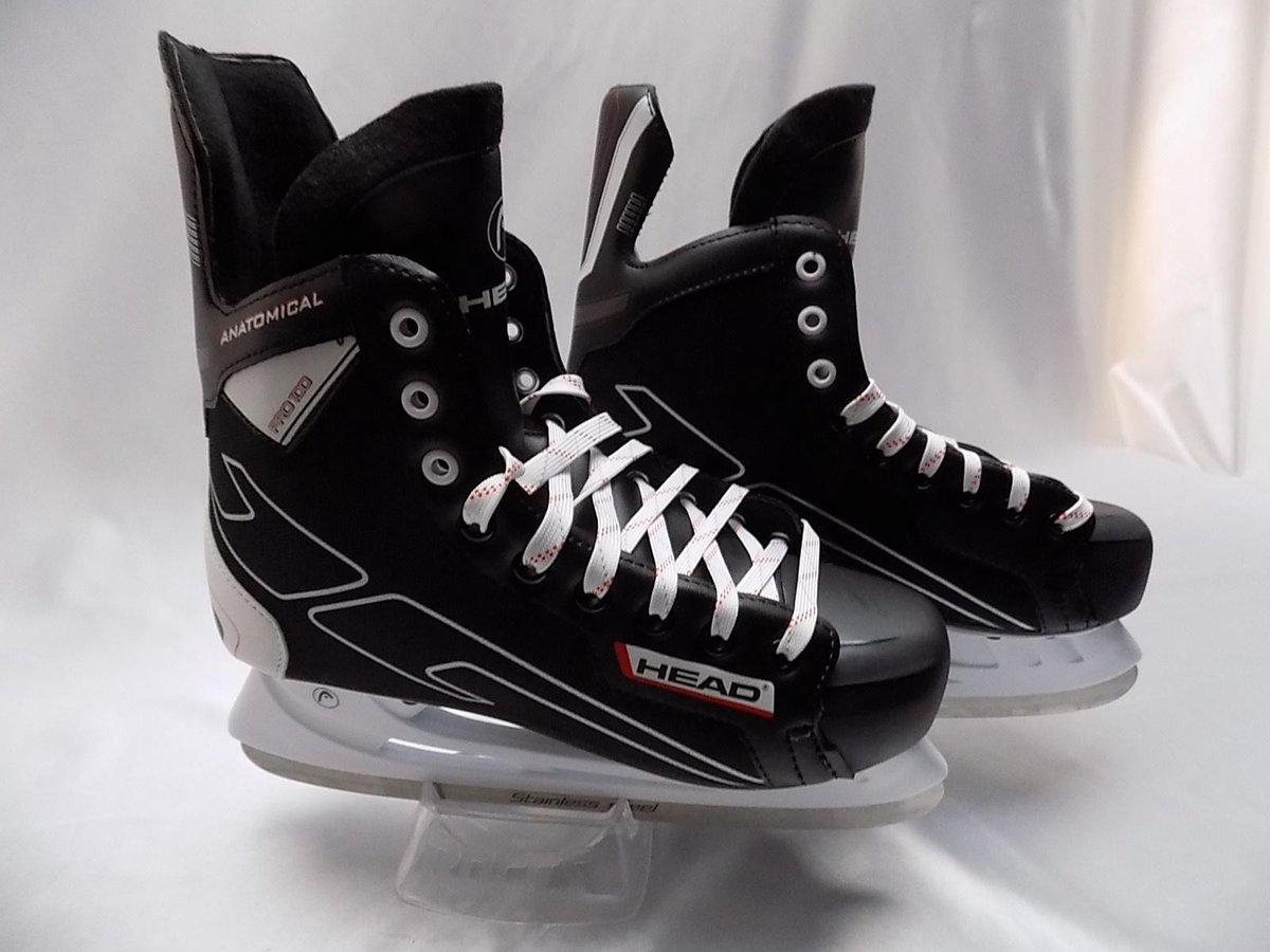 IJshockeyschaats Head Pro 100 zwart maat 44