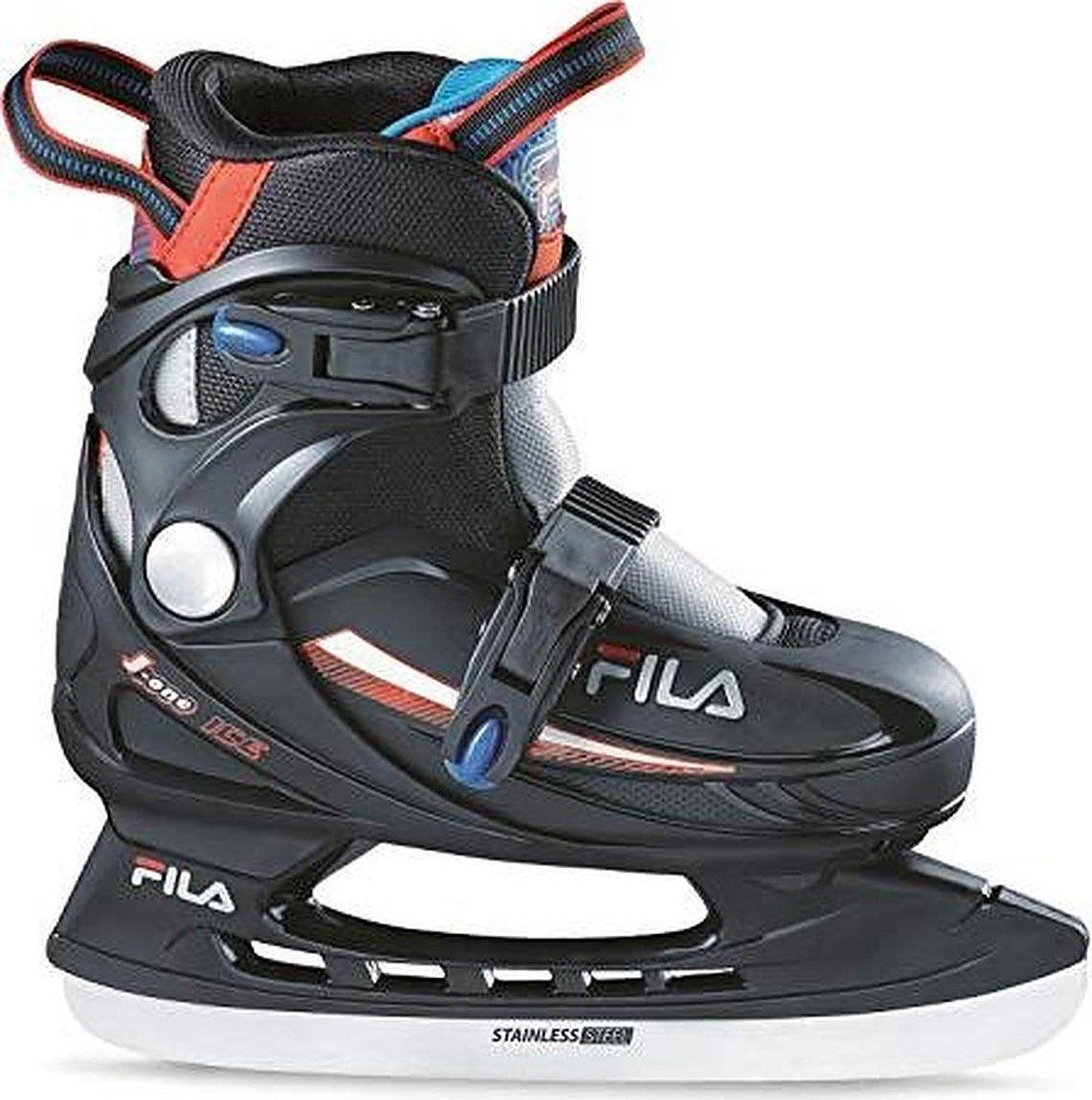 Fila - J-One Ice Boy HR - Schaatsen voor kinderen - Maat 26-30 - Blauw - Verstelbare ijshockeyschaatsen