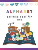 Alphabet. Coloring book for kids
