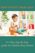 How To Potty Train A Boy: A 3-Day Step By Step Guide For Modern Busy Parents