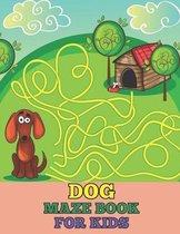 Dog maze book for kids