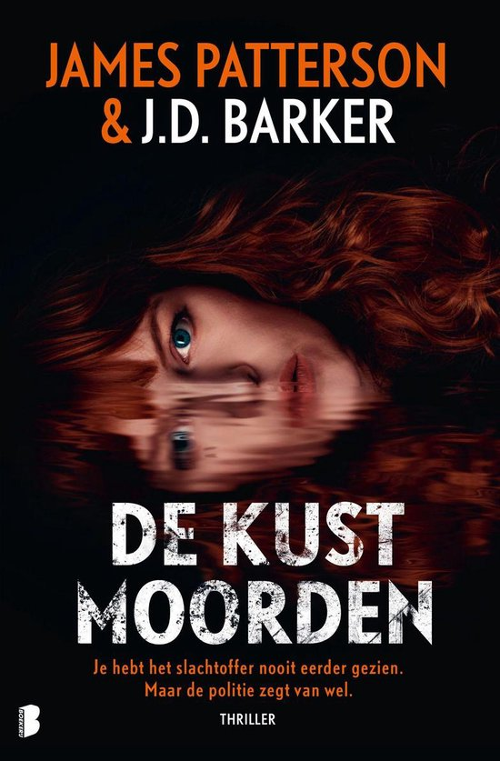 Boek cover De kustmoorden van J.D. Barker (Onbekend)