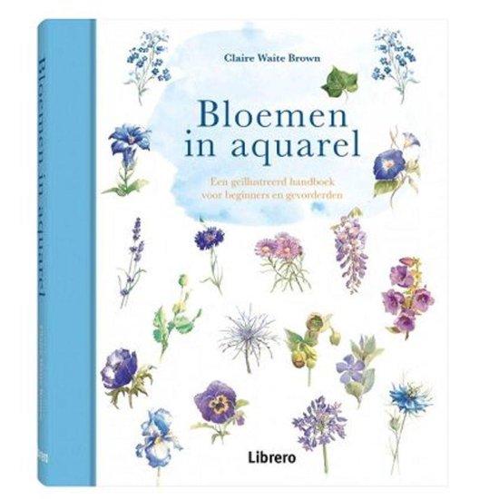 Cover van het boek 'Bloemen in aquarel'