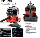 Numatic stofzuiger PPR 240-11 met kit AS0 Professional Rood/Zwart