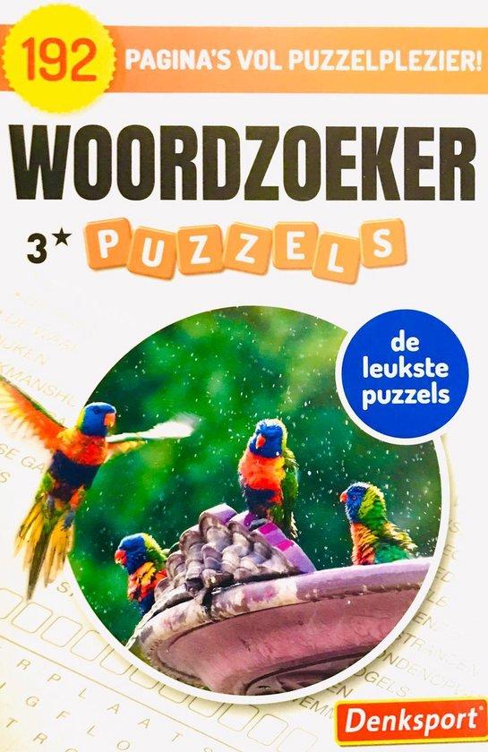 Afbeelding van Denksport | Denksport puzzelboekjes | woordzoeker puzzelboek | puzzelboekjes | puzzelboeken volwassenen denksport | woordzoekers denksport | kruiswoord | woordzoeker denksport | Puzzelboek Nederlands | 192 puzzels | 3* | Extra dik!