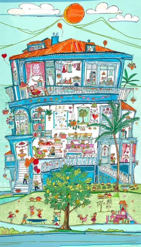 Poster Breadfruithouse - Hanneke de Jager - Multikleur - 80 x 140 cm - Fotoprint - art print - wanddecoratie - print