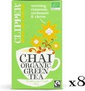 Clipper Organic Green Tea Chai- 8 x 20 zakjes