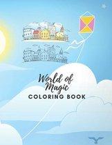 World of magic Coloring Book