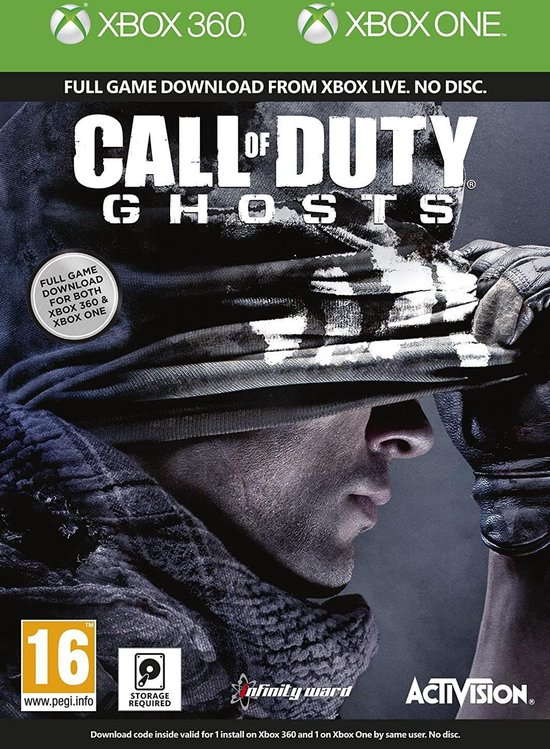 Call of Duty Ghosts – Xbox One Download code
