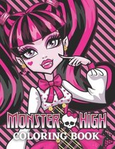 Monster High Coloring Book