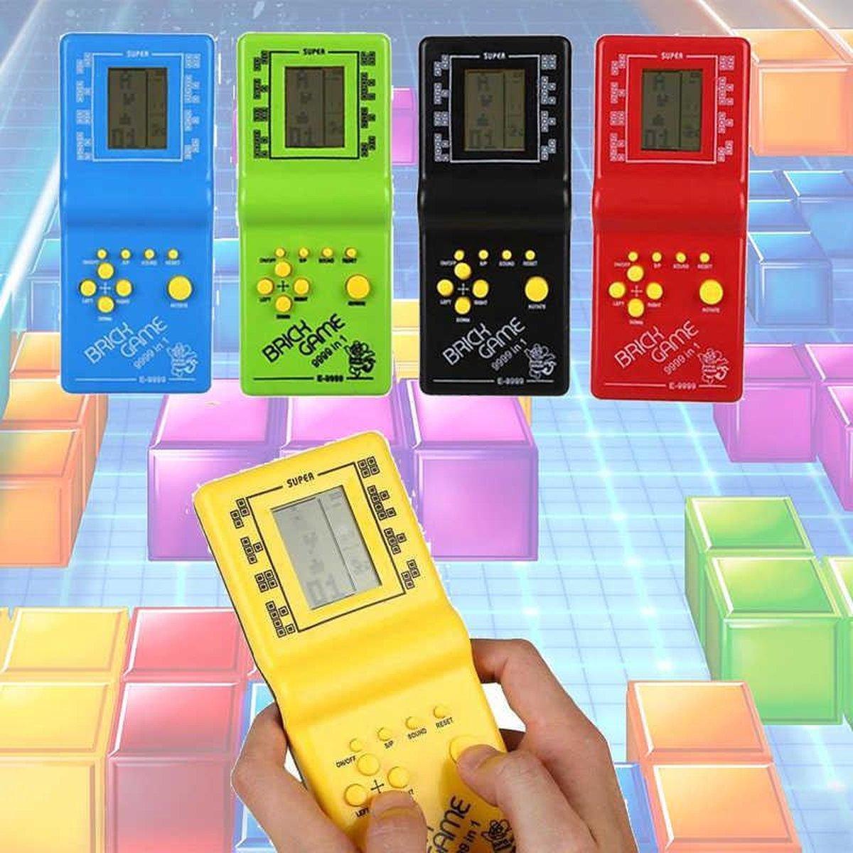 BBEC Toys Klassieke Tetris Spel Brick Game Handheld LCD Electronic Game Retro