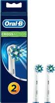 Oral-B CrossAction - 2 stuks - Opzetborstels