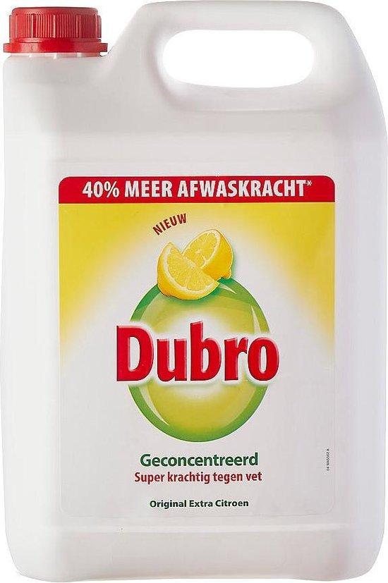 Dubro | Dishwashing Liquid | Jerrycan 5 Liters