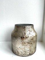 Vaas Bloom  -  Silver - Small  - H17 x Ø15