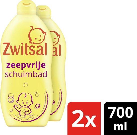 Zwitsal Zeepvrij Schuimbad Baby 2x700 ml