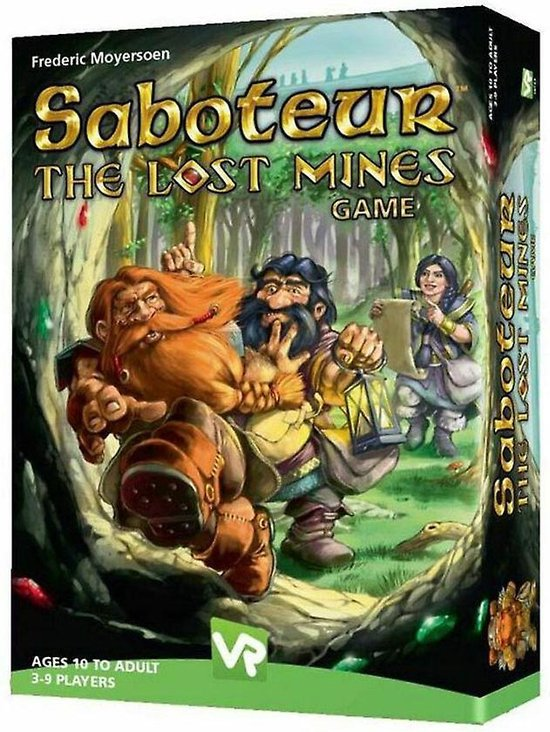 Afbeelding van het spel Saboteur The Lost mines