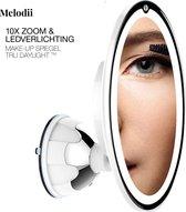 Spiegel met Ringverlichting - Make-upspiegel - Scheerspiegel