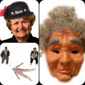 Opvulpop Sarah , Masker, Hoedje Voor een Sarah