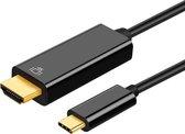 USB C naar HDMI Kabel - 1.8 meter - 4K 60hz - Premium Kwaliteit