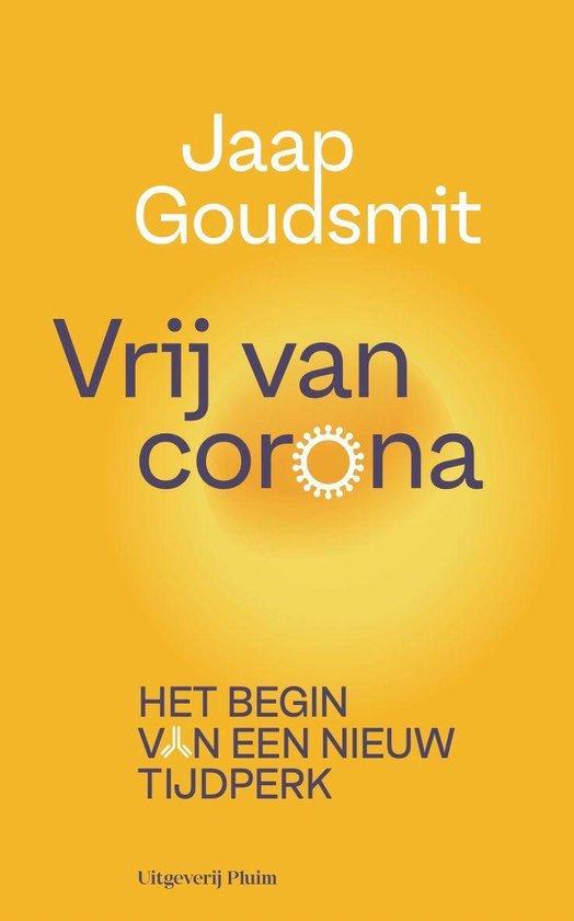 Boek cover Vrij van corona van Jaap Goudsmit (Onbekend)