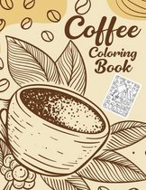 Coffee Coloring Book