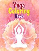 Yoga Coloring Book