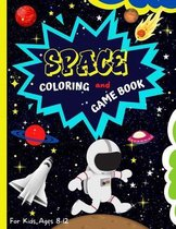 Space Coloring And Game Book