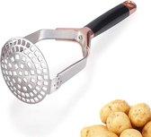 Aardappelstamper -rose goud |Stamper - Pureestamper- Potato Masher - Pureerder - Stamppot stamper - Matt steel - Horizontale handgreep