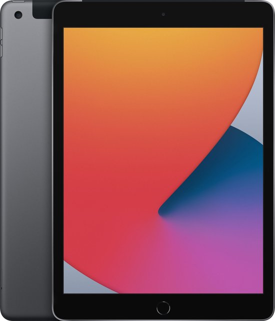 Apple iPad (2020) - 10.2 inch - WiFi + 4G - 32GB - Spacegrijs