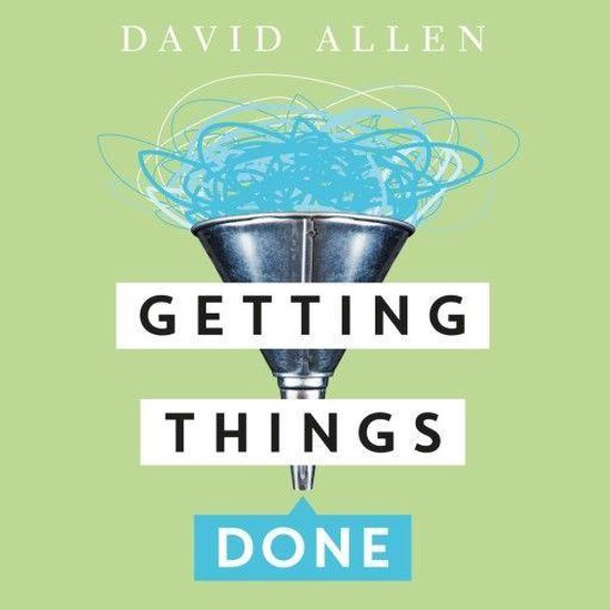 Boek cover Getting Things Done van David Allen (Onbekend)