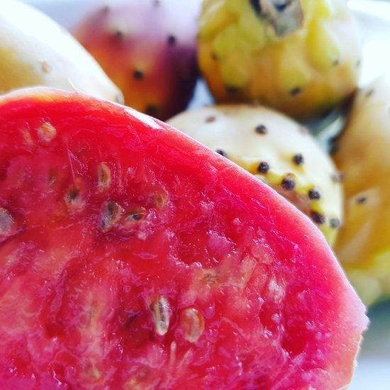 LaJeannette organics. cactusvijg zaadolie - serum - 10ml - roller - anti rimpel - prickly pear seed oil