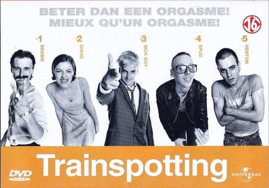 Cover van de film 'Trainspotting'