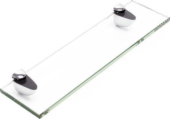 Bol Com Wastafel Planchet Voorzien Van Helder Glas 300 X 80 Mm Glazen Aflegplankje Voor