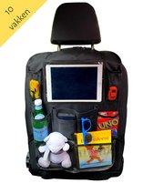 Afbeelding van Autostoel Organizer met Tablet Houder - Auto Organiser - Autostoel Beschermer - Auto Stoel Organiser - Tablet Houder