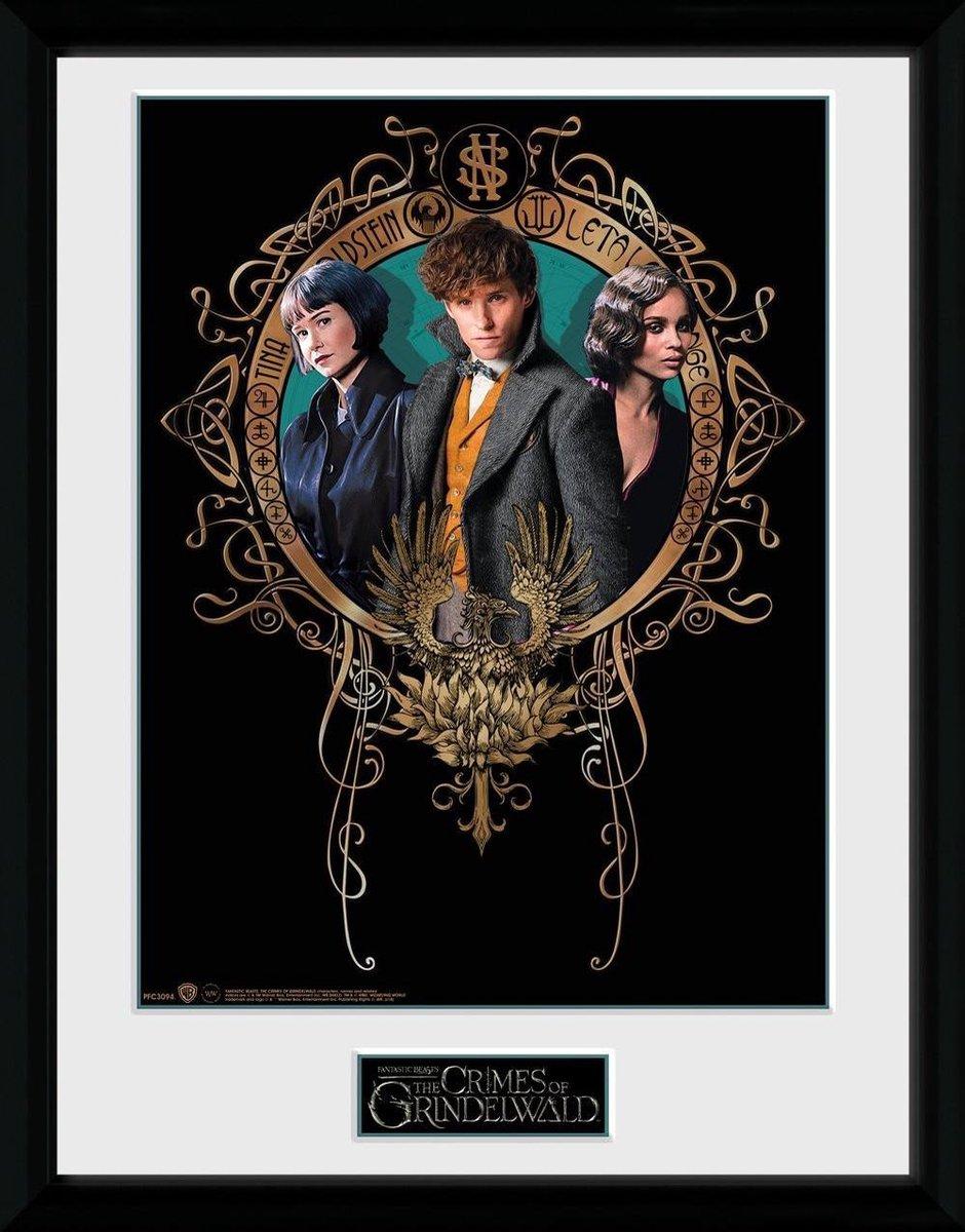 Fantastic Beasts 2: Trio Collector Print