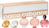 Paco Rabanne - Miniature Set Set Lady Million Edp 5 Ml/Lady Million Lucky Edp 5Ml/ Olympea Edp 6Ml /Olympea Legend Edp 6 Ml/Pure Xs For Her Edp 6 Ml