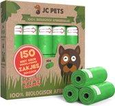 Hondenpoepzakjes - 150 stuks - 100% Biologisch Afbreekbaar - Poepzakjes Hond - 10 rollen