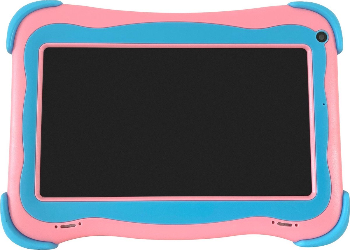 Cammy Kids Tablet Robust – Kindertablet – 7 inch scherm – 16GB – Roze – Inclusief 16GB High-Speed MicroSD + Powerbank