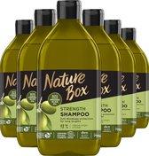 Nature Box Olive Shampoo 6x 385 ml - Voordeelverpakking