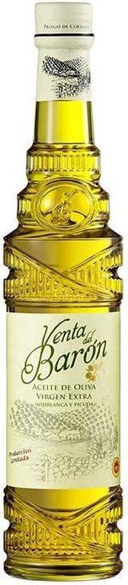 GreenBites - Prijswinnende Spaanse Olijfolie Venta Del Baron 500 ML - Behoort tot beste Extra Vierge olijfolies ter wereld |koudgeperst| (Nieuwste Oogst 2019/2020)
