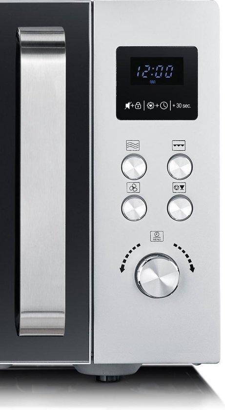 Severin MW 9559 - Combi-magnetron - zwart/zilver