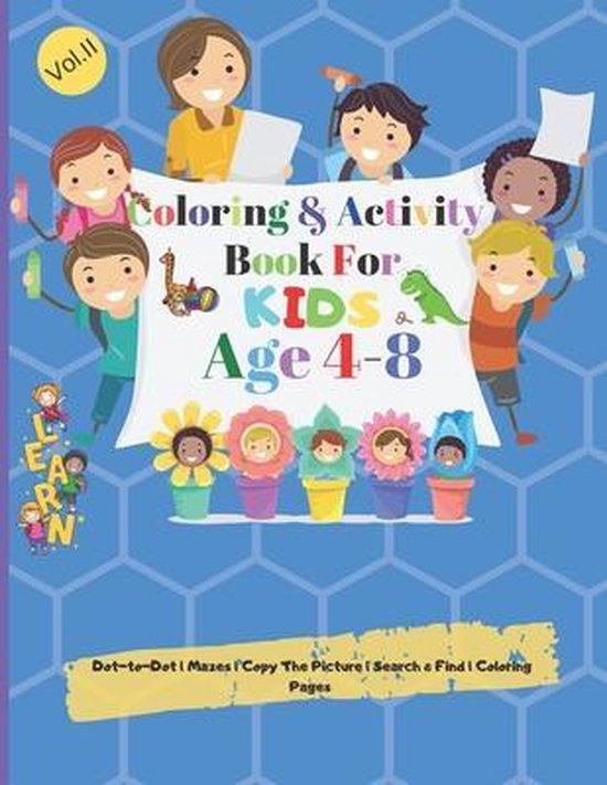 Coloring & Activity books for Kids