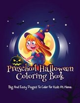 Preschool Halloween Coloring Book
