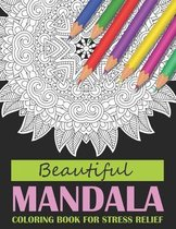 Beautiful Mandala Coloring Book For Stress Relief