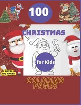 100 Christmas Coloring Pages for Kids