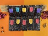 Tea Box Large; Vruchten thee - 10 smaken - losse thee - ±6 kopjes per smaak