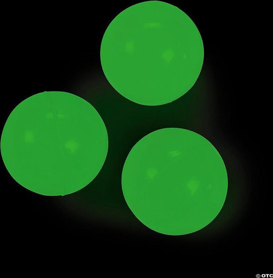 5 Sticky Balls - Sticky Wall Balls - MUUR - Glow in the Dark - TikTok Trend 2020-2021 - Stress Verminderend - Klevende Plafond Bal