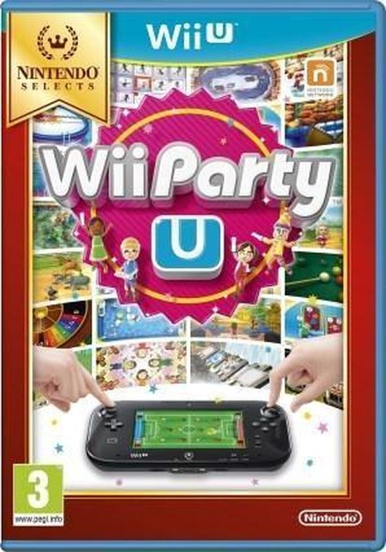Wii Party U (Select) Wii U - Nintendo